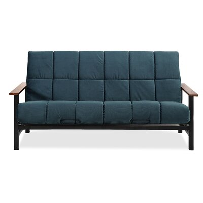 Phoenix Futon and Mattress Color: Indigo
