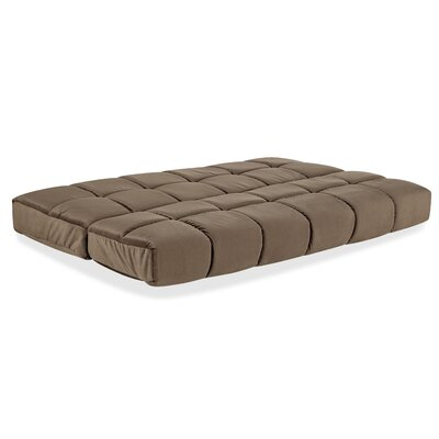 8 Innerspring Full Size Futon Mattress Color: Ash