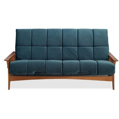 Seattle Futon and Mattress Color: Indigo