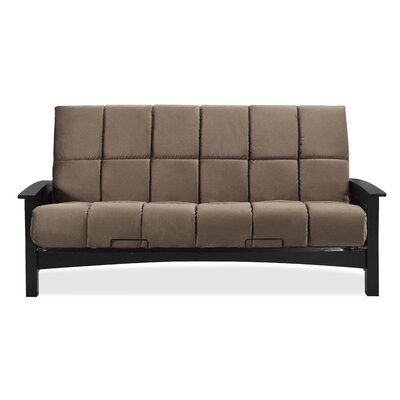 Denver Futon and Mattress Color: Ash