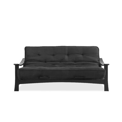 Futon and Mattress Color: Black
