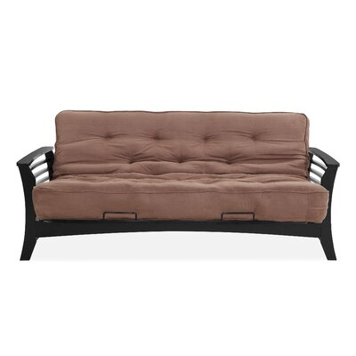Chicago Futon and Mattress Color: Chocolate