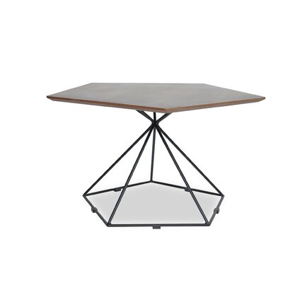 Gentry Coffee Table in Black Steel