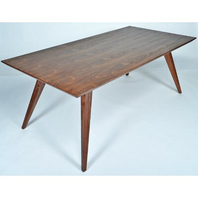 Demir Dining Table Size: 30 H x 39 W x 79 D