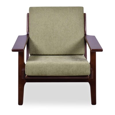 Marley Arm Chair Upholstery: Pistachio