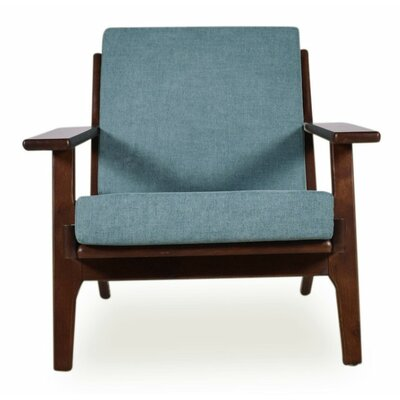 Marley Arm Chair Upholstery: Turquoise