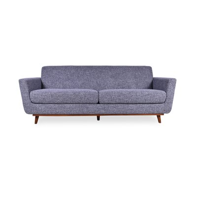 Seth Mid Century Modern Sofa Upholstery: Pepper Gray