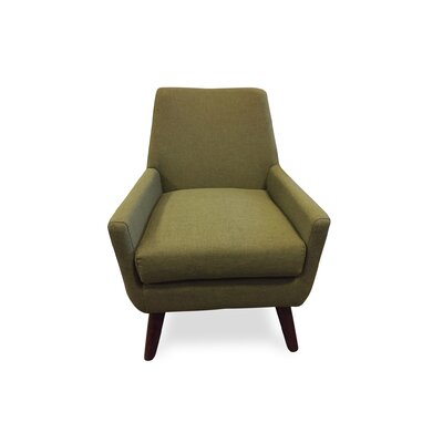 Jeremiah Arm Chair Upholstery: Mustard