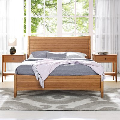 Willow Panel Bed Size: King