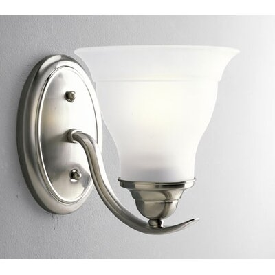Flush Mount Brushed Nickel Light | Wayfair