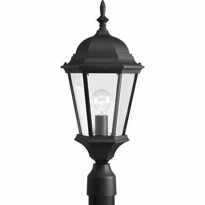 Triplehorn 1-Light Lantern Head in Clear Beveled Glass