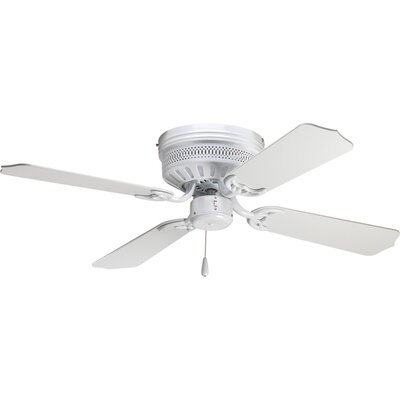 42 Scotty 4-Blade Ceiling Fan Finish: White with White Blades