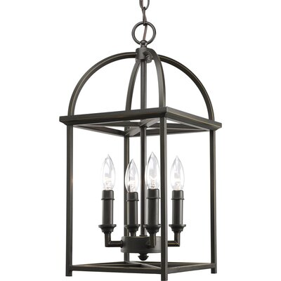 Piedmont 4-Light Foyer Pendant Finish: Antique Bronze