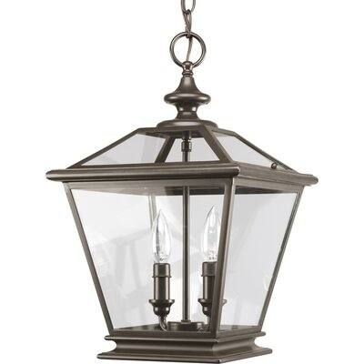 Crestwood Pendant in Antique Bronze