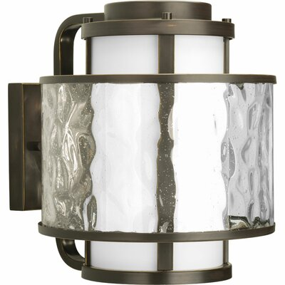 Triplehorn 1-Light Outdoor Wall Sconce Size: 13.37