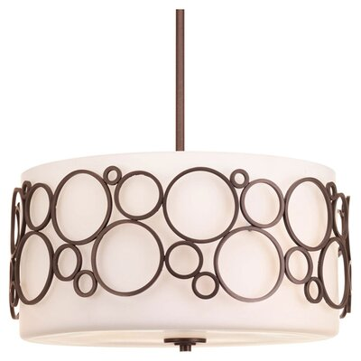 Bingo 3-Light Pendant Finish: Venetian Bronze