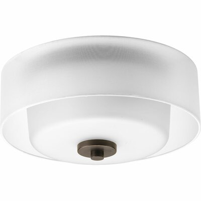 Invite 2-Light Flush Mount Finish: Antique Bronze