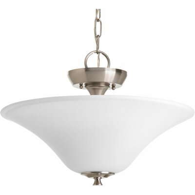 Risha 2-Light Semi Flush Mount