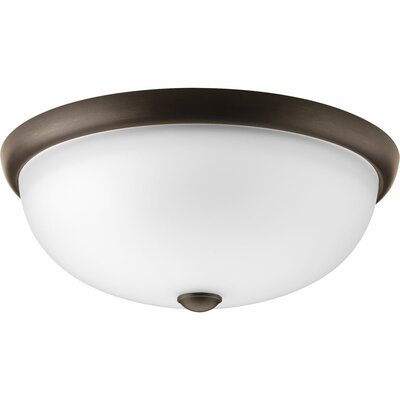 Maccharles 3-Light Flush Mount Finish: Antique Bronze