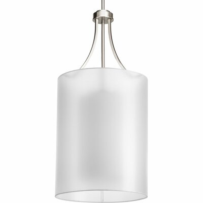 Invite 2-Light Pendant Finish: Brushed Nickel