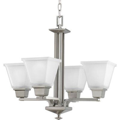 Chickamauga Traditional 4-Light Shaded Chandelier