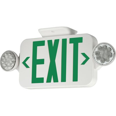 LED Exit Sign Letters Color: Green