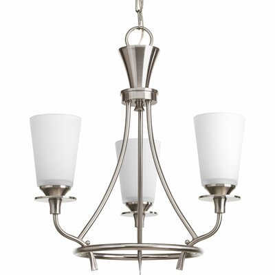 Cantata 3-Light Shaded Chandelier