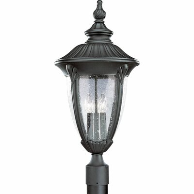 Triplehorn 1-Light Lantern Head in Black