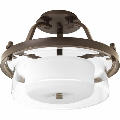 Cecilia 2-Light Semi Flush Mount