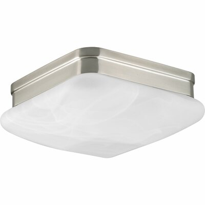 Burbury 2-Light Flush Mount Finish: Brushed Nickel