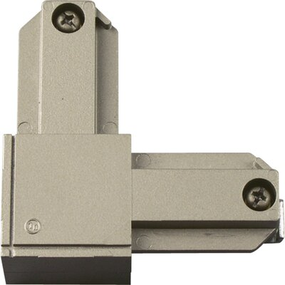 Outside Polarity L Connector Finish: Brushed Nickel