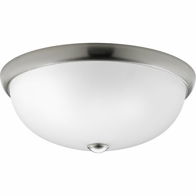 Maccharles Modern 3-Light Flush Mount Finish: Brushed Nickel