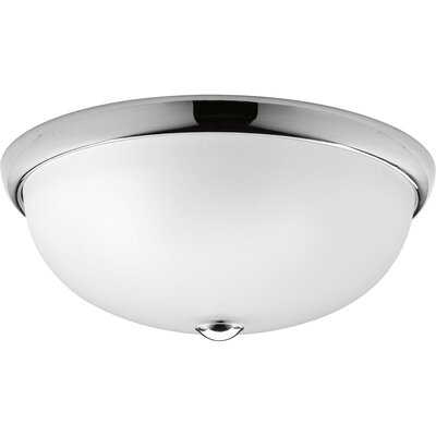 Maccharles Modern 3-Light Flush Mount Finish: Polished Chrome