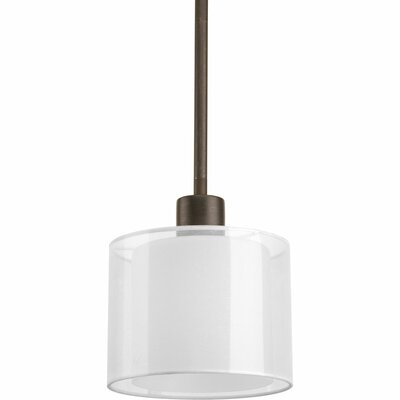 Invite 1-Light Mini Pendant Finish: Antique Bronze
