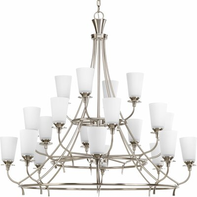 Risha 20-Light Shaded Chandelier