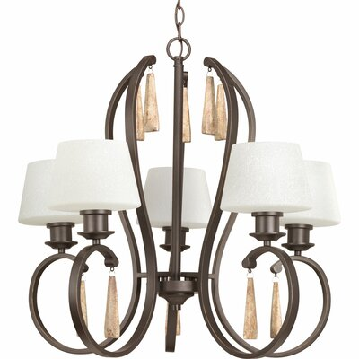 Catharine 5-Light Shaded Chandelier