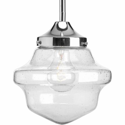 Academy 1-Light Schoolhouse Mini Pendant