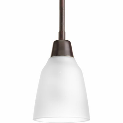 Durrell 1 Light Mini Pendant Finish: Antique Bronze, Bulb Type: Medium Base (not included)