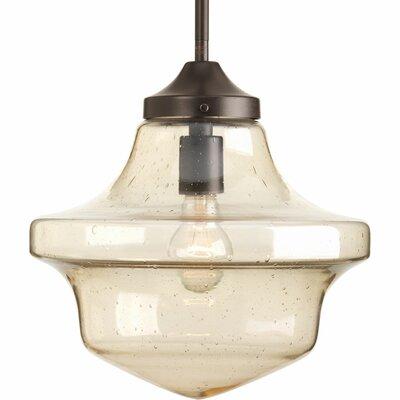 Brenneman 1-Light Globe Pendant Size: 12.75 H x 12 W x 12 D