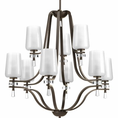 Indulge 9-Light Shaded Chandelier