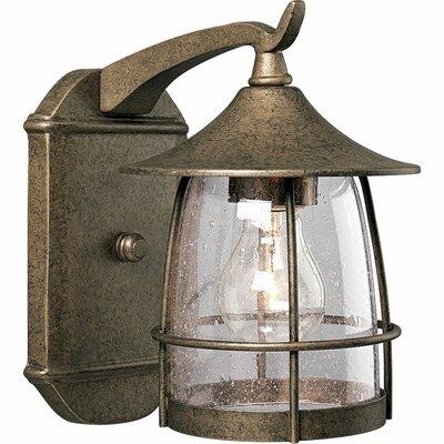 Triplehorn 1-Light Incandescent Outdoor Wall Lantern