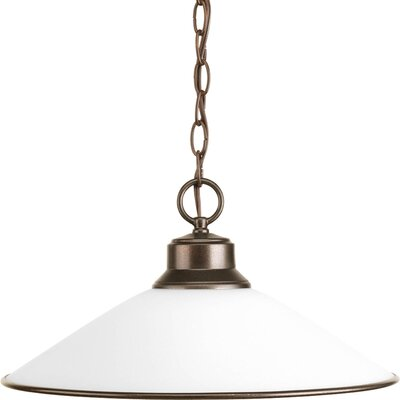 1-Light Chain-Hang Pendant Finish: Antique Bronze