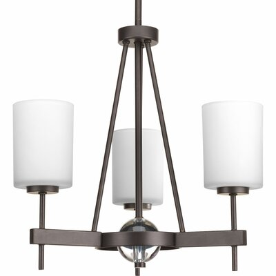 Compass 3-Light Shaded Chandelier