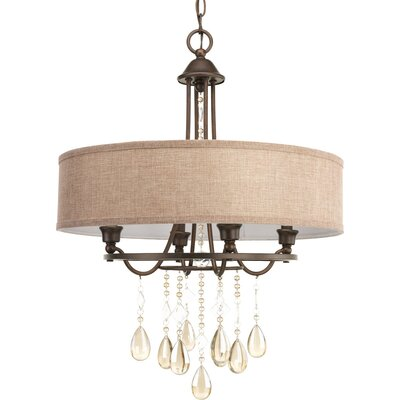 Devondra 4 Light Drum Pendant