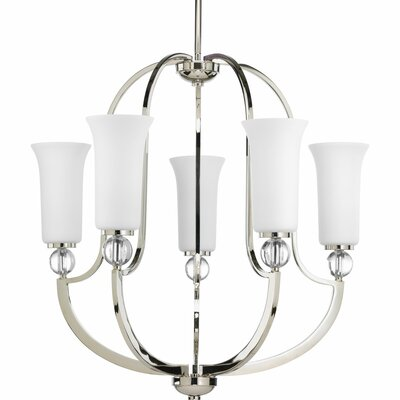 Elina 5-Light Shaded Chandelier
