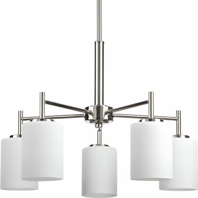 Knouse 5-Light Shaded Chandelier
