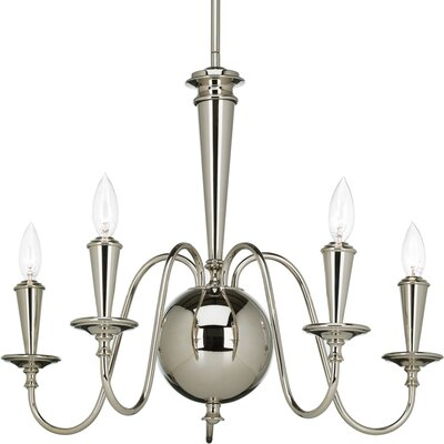Maisie 5-Light Shaded Chandelier