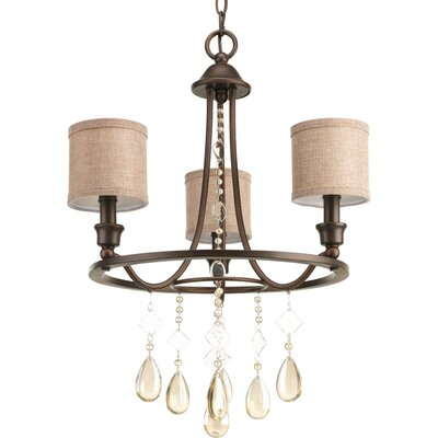 Citlali 3 Light Drum Chandelier