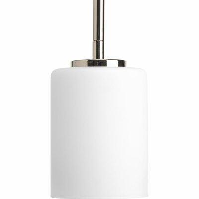Knouse 1-Light Polished Nickel Mini Pendant