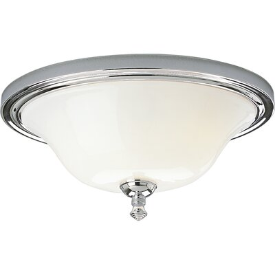 Pearl Nickel Flush Mount Finish: Chrome